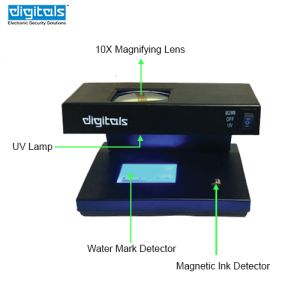 Digitals Uv Fake Note Detector (code - Rd-uv-160-m-di)