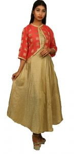 Sameeya Womens Designer Skirt & Jacket Gown (code- K119)