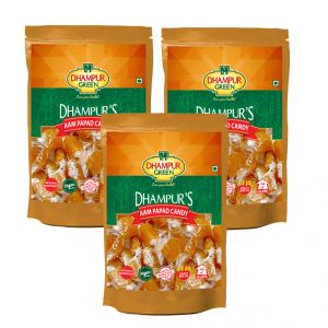Dhampur Green Aam Papad Candy 150gm ( Pack Of 3)