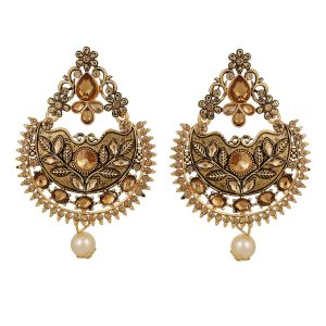 Piah Gold-plated Lct Beaded Dangle & Drop Earrings For Women