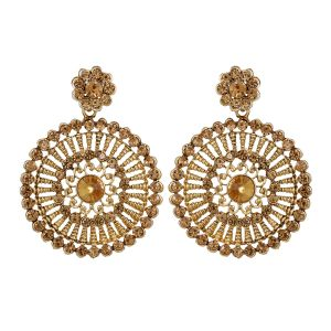 Piah Fashion Lct Austin Diamond Pearl Earrings For Women