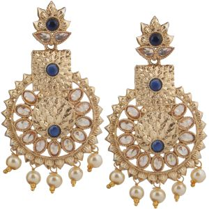 Piah Fashion Beguilling Gold Plated Jewellery Earring For Women