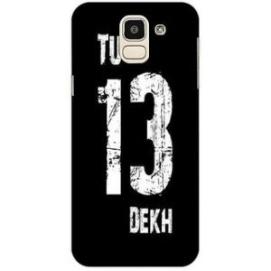 info for 2bd1d 730a8 Samsung Galaxy J6 printed back hard cover case Matte finish premium 3D  printed designer case