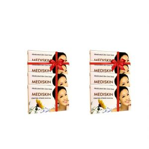 Soaps - Mediskin Soap 75gm (Buy 4 Get 4)