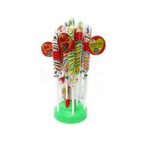 Toffee, Candy - Spiral lollipop Tom Joy Candy (40 Packs in 1 Box)