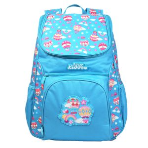 "Smily Kiddos | Smily ""u"" Shape Backpack (light Blue)"