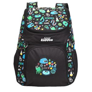 "Smily Kiddos | Smily ""u"" Shape Backpack (black)"