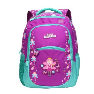 Smily Kiddos | Smily Dual Color Backpack (purple)