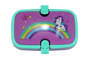 Smily Kiddos Smily Unicorn Lunch Box (purple)