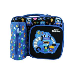 Smily Kiddos Smily Multi Compartment Lunch Bag (blue)