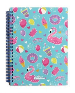Smily Kiddos | Smily A5 Lined Notebook (light Blue)