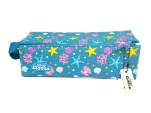 Smily Kiddos | Smily Tray Pencil Case ( Light Blue )