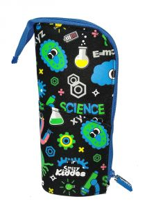 Smily Kiddos | Smily Pen Holder Case (black) | Buy Pencil Case | Kids