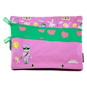 Kids' Accessories (Misc) - Smily kiddos  Fancy a5 pencil case  (Purple)