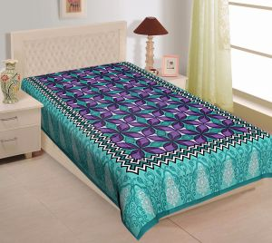 5a5722465e Texstylers 100% Cotton Single Bed Sheet Without Pillow Cover - (  code-Pr_Sgl_13 )