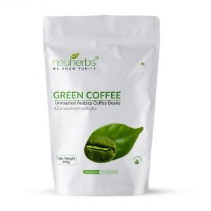 Health & Fitness - Neuherbs Green Coffee Beans For Weight Loss -225g