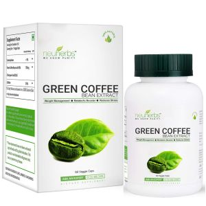 Neuherbs Green Coffee Bean Extract For Weight Loss - 60 Capsules