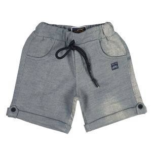 Shorts & bermudas - Gusto Baby Boy's Green Cotton Blend Relaxed Shorts_(Code-J196_GREEN)