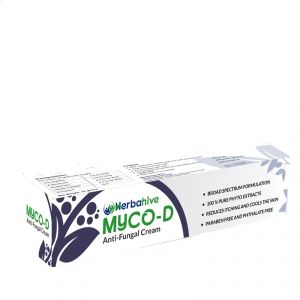 Personal Care Appliances (Misc) - MYCO-D HERBAHIVE Anti-Fungal Cream(CODE-myco2019)