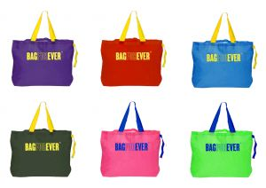 Estoss,Bagforever Handbags - Bagforever Pack Of 6 Durable Foldable Shopping Bags 6 Months Warranty