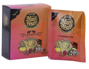 Royal Black Pearl (heritage Blend) Honey And Peach Oolong Tea - 5 Tea Bags