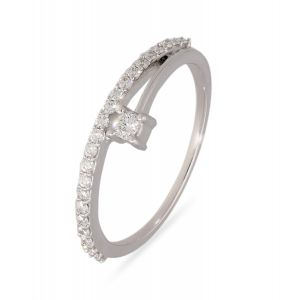 Diamond Jewellery - Jewelroof 0.19 cts Diamond & Gold  The Celestina Ring - (Code-G182907D )