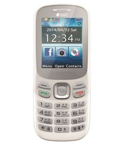 J-fox 312 Dual Sim Mobile Phone