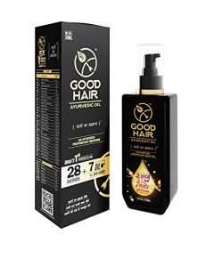 Hair Oils, Gels - Good Hair Ayurvedic Oil With 28 Herbs And 7 Essential Oil 100ml