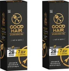 Hair Oils, Gels - Good Hair Ayurvedic Hair Oil Pack Of Two Hair Oil