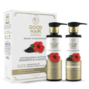 Good Hair Ayurvedic Combo Kit Hair Shampoo And Conditioner - ( Code - Gh_combo_shco )
