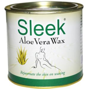 Sleek Aloevera Wax For Hair Removal - 600 Gms (code- 8908006707089)