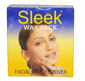 Sleek Facial Pack Wax For Hair Removal 80 Gms - ( Code - Sleekkatoriwax )