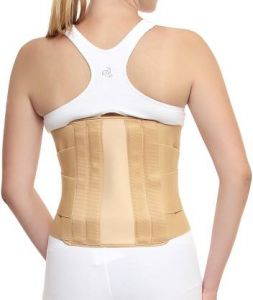 Kudize Lumbar Sacral (l.s.) Belt Contoured Spinal Brace Mild Lower Back Support (code -gr02)