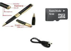 Spy Pen Camera With 4GB Memory Card