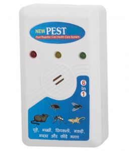 Pest control devices - Electronic Pest And Mosquito Killer Machine With New Electromagnetic 6 In 1 Technology