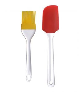 Silicon Spatula And Pasty Brush Set