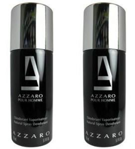 Azzaro Deodorants - Set of 2 Azzaro Black Deodorant 200 ml