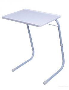 And-also New Table Mate II For Home Office Reading Study Desk Laptop Dinning Table (white)