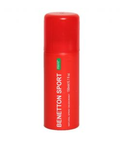 Benetton Sport Woman Natural Spray Deodorant 200 Ml