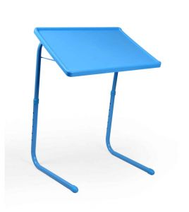 Blue Table Mate Folding Portable Table Laptop Study