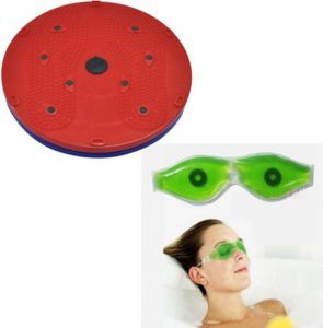 Detak Combo Of 5 In 1 Twister With Eye Cool Mask Massager