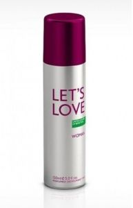 Benetton Personal Care & Beauty - Benetton Lets Love Deodorant Spray - 150 ml