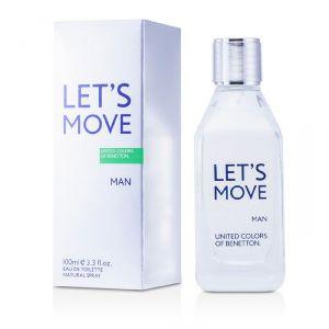 Benetton Personal Care & Beauty - Benetton Lets Move Eau De Toilette Spray 100ml/3.3oz