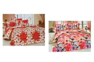 2 Bedsheets Pack With Pillow Covers