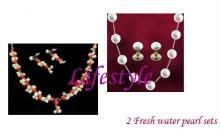 Exclusive Offer - 2 Versatile Fresh Water Pearl Sets