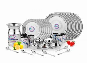 Dinner sets - Stainless Steel 31-piece Dinner Set
