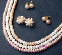 3 Pure Jewellery Pearl Sets For The Price Of 1