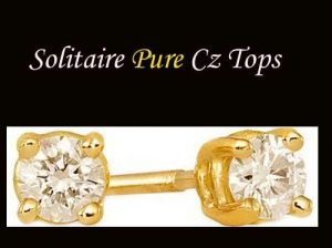 Stunning Solitaire American Diamond Tops