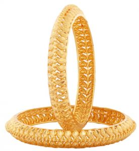 Gold Plated Jewellery Kada Alankrita