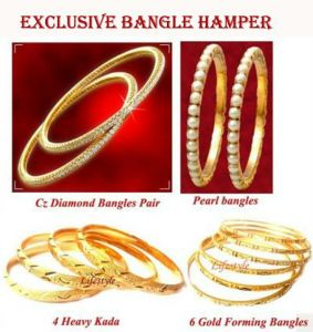 Set Of 14 Exclusive Bangle Hamper